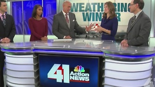 41 Action News meteorologists cast their predictions for this year's winter - Video