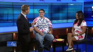 Storm Team 4's Brian Niznansky wants in on the cheese curd eating contest - Video