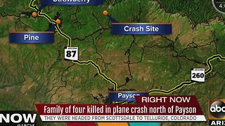 Family of 4 killed in crash headed to Colorado for annual trip