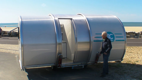 This Trailer Expands in Size for an Ultra-Convenient Way to Travel