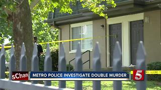Metro Police Investigate Double Murder - Video