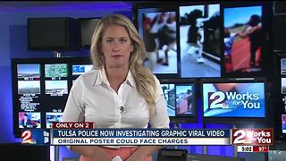 Tulsa Police investigating graphic viral video