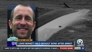 Lewis Bennett, husband of missing Isabella Hellmann, back in federal court Friday for bond hearing - Video