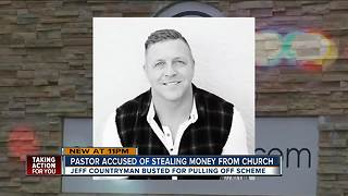 Local pastor accused of stealing money from church - Video