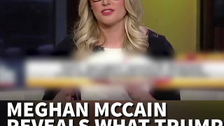 Meghan Mc Cain Speaks Up Reveals What Trump Really Lost With Flynn Resignation - Video
