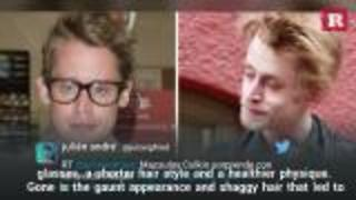 Macaulay Culkin has a new great look | Rare People - Video