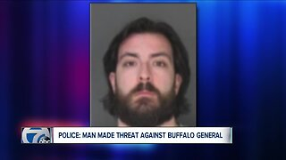 Police: man accused of making threat against Buffalo General