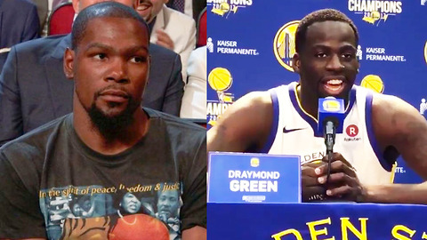 "Draymond Green KICKS Kevin Durant While He's Down: ""I Laughed in His Face!"""