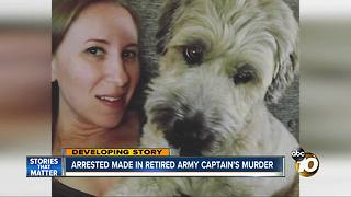 Arrest made in retired army captain's murder - Video