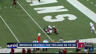 Broncos beat Troy 56-20