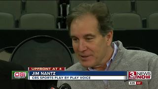 Jim Nantz talks Sweet 16 matchups, Omaha - Video