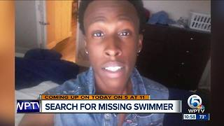 21-year-old Boynton Beach swimmer missing - Video