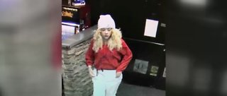Las Vegas police searching for woman connected with armed robbery