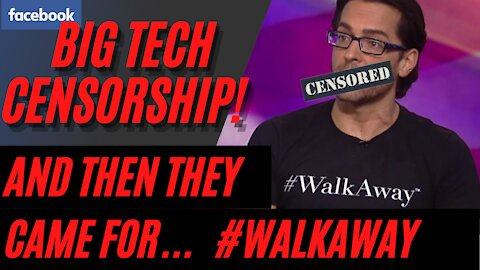 Facebook Censors Brandon Straka and the Walk Away Campaign: #WalkAway