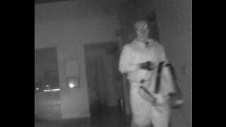 Caught on video: masked burglar prowling Chula Vista home