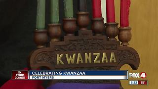 First day of Kwanzaa inspires kids to reach for dreams - Video