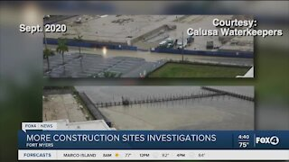Construction sites being investigated
