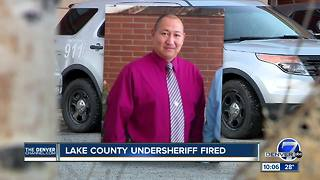 Lake County undersheriff was fired; sheriff's office employees to undergo new harassment training - Video