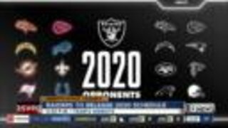 Raiders to release 2020 schedule today via livestream