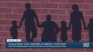 Cheating the unemployment system?