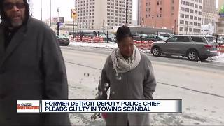 Plea deal accepted for former Detroit police deputy chief in towing scandal - Video