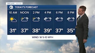 Metro Detroit Forecast: Chilly today; Warm up on the way