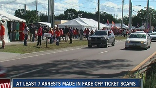 Ticket scams victimize some National Championship fans - Video