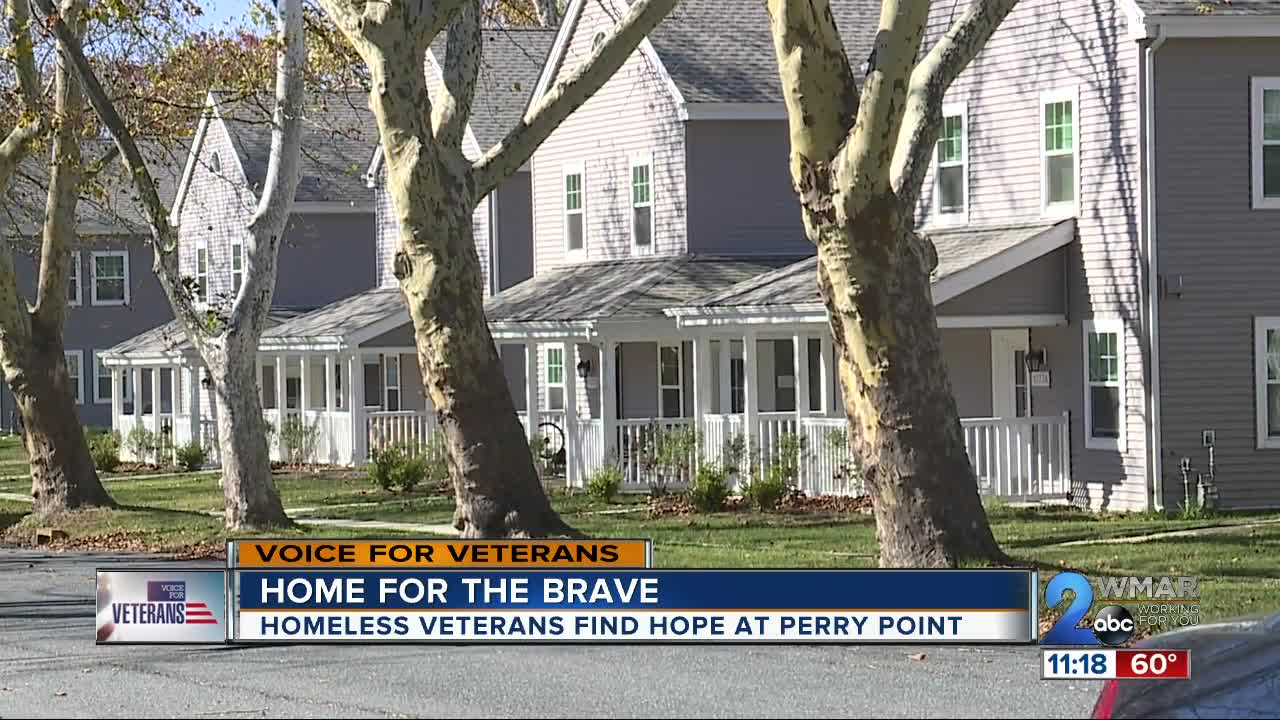 Homeless veterans find hope at Perry Point