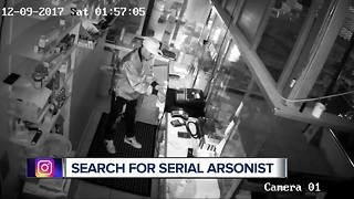 Search for a serial arsonist - Video