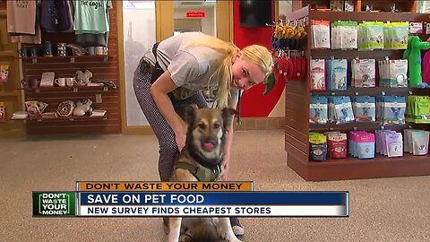 Save on pet food