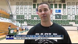 Eagle Girls Basketball team is looking for 1st State Title - Video