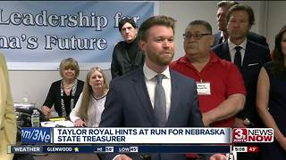 Taylor Royal running for State Treasurer - Video