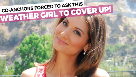 """Meterologist Asked To """"Cover Up"""" On Live Television"""