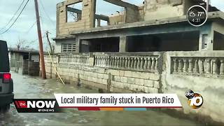 Local Navy veteran stuck in Puerto Rico - Video