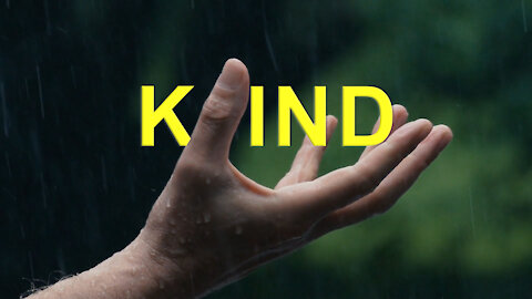 Andy White: KIND (video 1 minute, 35 seconds)