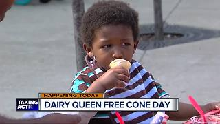 Dairy Queen kicks off spring with free cones on Tuesday - Video