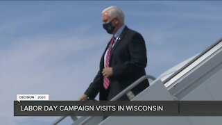 VP Mike Pence, VP candidate Kamala Harris both visit Wisconsin on Labor Day