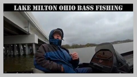 Lake Milton Ohio Bass Fishing