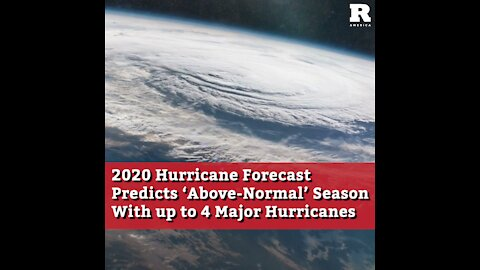 2020 Hurricane Forecast Predicts 'Above-Normal' Season With up to 4 Major Hurricanes
