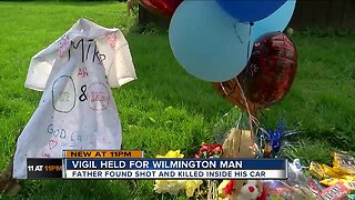 Family holds vigil, scatters M&Ms for Wilmington shooting victim