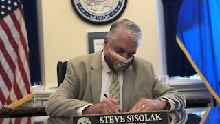 Governor Sisolak to give COVID-19 update at 3