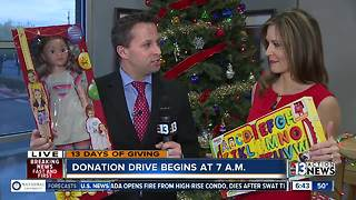 Beth and Dan talk about 13 Days of Giving - Video