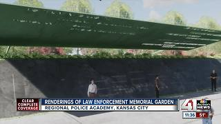 Memorial garden to honor those killed in line of duty - Video