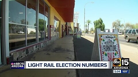 South Phoenix light rail? Voter turnout higher than previous elections