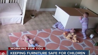 Keeping furniture safe for children - Video