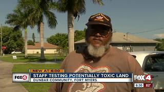 DEP tests Dunbar locations for toxins - Video