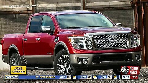 Nissan recalls Titan pickup trucks due to electrical issues
