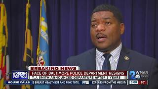 Baltimore Police Chief of Media Relations resigns