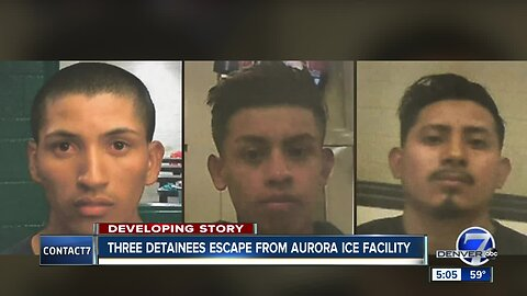 Fort Carson rape suspect among 3 detainees who escaped from Aurora ICE facility