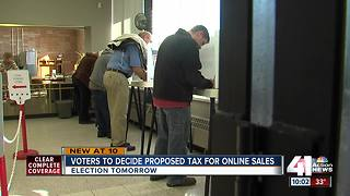 Liberty voters to decide on online sales tax - Video